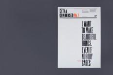 Extra Condensed No.1 | The Counter Press | typetoken®