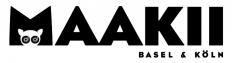 Maakii, Basel & Köln - Fonts In Use