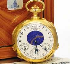 Patek Philippe Henry Graves Supercomplication Beats Its Own Record At Auction $24,000,000 - Luxuryes