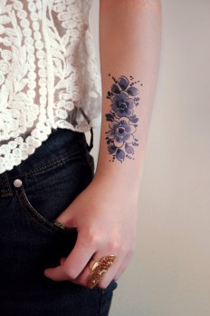 Flower Tattoo on Inspirationde