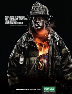 Mine Safety Appliances: The Fire Inside - Dan | Ads of the World™