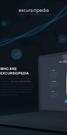 Excursiopedia redesign on