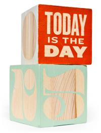 Pompadour Calendar Blocks | Andy Mangold