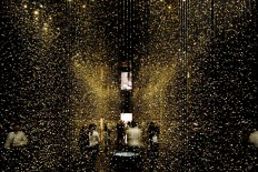 Walk Through an Installation of 65,000 Shimmering Watch Base Plates | Spoon & Tamago