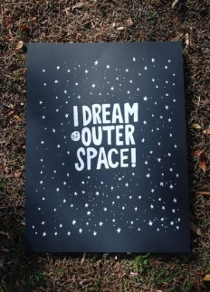 Things I've made... / I Dream of Outer Space by nickvillalva on Etsy