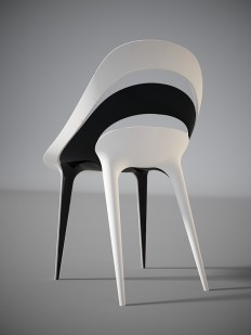 FLO chair concept on