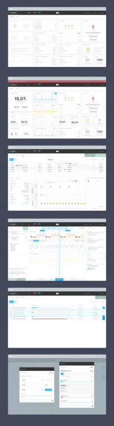 Nutanix Design iterations by Jeremy Sallée ??? on Inspirationde