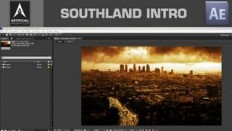 After Effects Basic Tutorial - Making a simple Intro, Southland Intro from scratch - YouTube