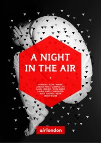 weandthecolor: A Night In The Air Event poster... - collecteD