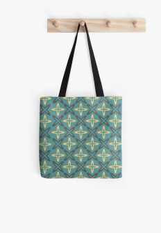"""Patternwork XV"" Tote Bags by metron 