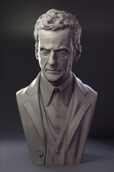 The Doctor Zbrush and Modo - The Last Sacred Bear - James W Cain Digital Sculptor