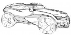 Car design sketches #5 on