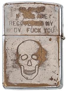 A lighter from the Vietnam War... - Imgur