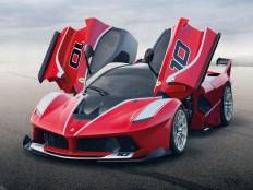 Ferrari FXX K - Car Body Design