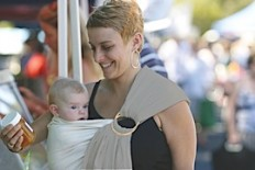 The Hug-a-Bub Traditional Ring Sling