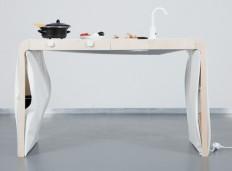 """Die """"Kleine Küche""""- die Küchenausstattung auf ein Möbelstück begrenzen"""