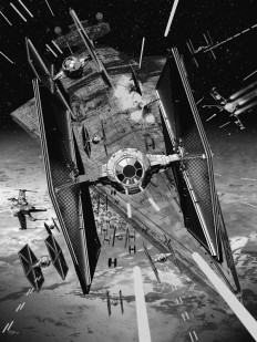 X-Wing Vs. TIE-Fighter screen prints. on