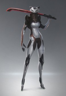 Character concept art on