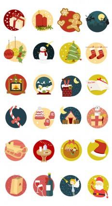 Freebie: Christmas Icon Set (24, Icons, AI, PSD, EPS, PDF, SVG, PNG) - Smashing Magazine