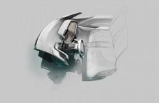 BMW i3 - Interior Design Sketch - Car Body Design
