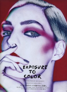 VOGUE JAPAN | EXPOSURE TO COLOR | LE BOOK