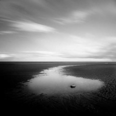 Black and White Minimalistic Landscapes by Zoltan Bekefy