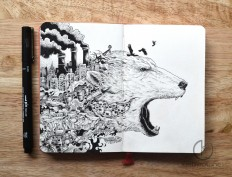 Sketchy Stories - Doodle Art of Kerby Rosanes : Photo