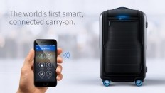 Bluesmart - The World's First Smart Connected Carry-on Suitcase - YouTube