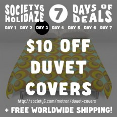 NEW PROMO!! by metron   Society6