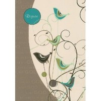 """Rejoice"" Journal Cream/Turquoise 