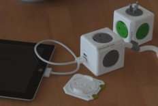 PowerCube Extended USB and Electric Outlet Adapter