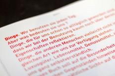 GEGENSTAND | Slanted - Typo Weblog und Magazin