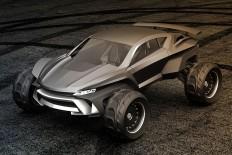 Sidewinder Dramatic Future Car - Bonjourlife