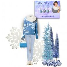 Shop Akira Crochet Scarf - Polyvore