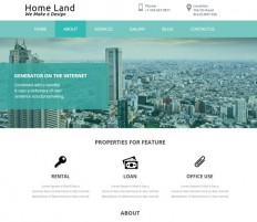 Home Land a Real estate Category Flat Bootstrap Responsive web template by w3layouts