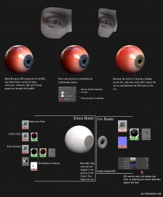 Vray Eye Shader & Eye download : portfolio