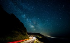 Milky Way Stars Night Road - Photography Wallpapers