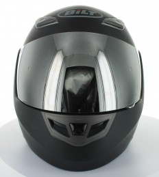 BILT Demon Modular Motorcycle Helmet - SMALL, Matte Black