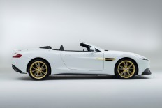 Aston Martin Works 60th Anniversary Vanquish Has Piston-Metal Interior Trim