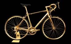 Goldgenie Unveils 24 Karat Gold-Plated Bicycle - Luxuryes
