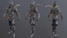 Skeleton Warrior - Polycount Forum