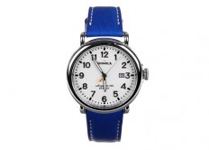 colette x Shinola Limited Edition Blue Runwell Watch - Luxuryes