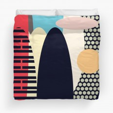"""Abstraction I"" Duvet Covers by metron 