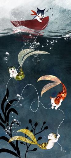 Amoebas Amoebas Everywhere! — Catfish by ArtbyVW
