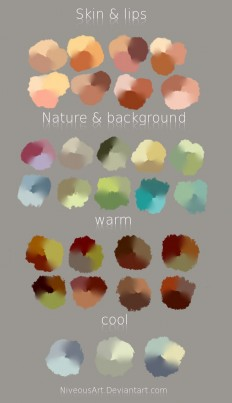 Color Swatches by NiveousArt on DeviantArt