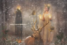 Yule by Le-Regard-des-Elfes on DeviantArt