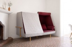 Orwell Sofa: A Private Urban Fort - Design Milk