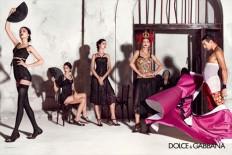 Dolce & Gabbana Spring Summer 2015 Womenswear Campaign - FashionMag.us