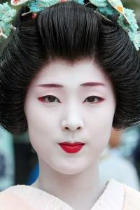 Samantha Lennon Blog of Makeup & Beauty: Geisha Makeup (Halloween Inspiration)