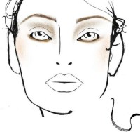 MAC Cosmetics at Parish Fashion Week 2010 – Face Charts – 5 March | Chic Profile